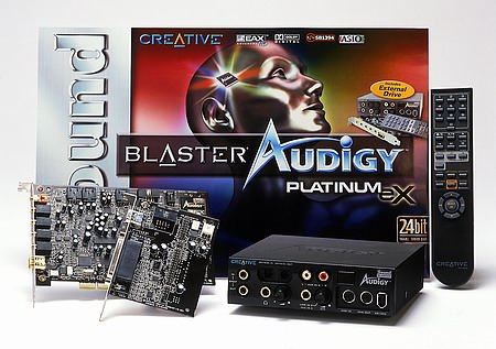 Creative Sound Blaster Audigy Platinum EX
