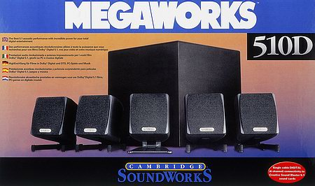 Creative MegaWorks 510D box