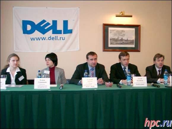 Люди, которые привезли для нас Dell Axim 5...:)