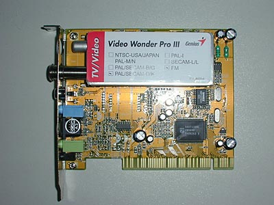 Genius Video Wonder Pro III